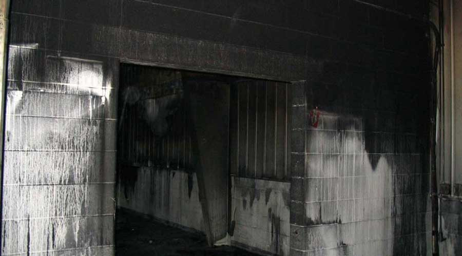 commercial fire damage cleanup company